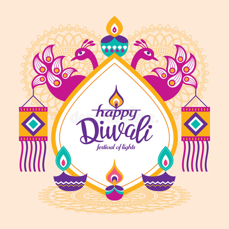Happy Diwali vector illustration
