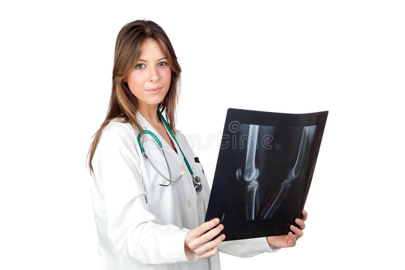 Download Happy Doctor Woman With Radiography Stock Photo - Image: 20843312
