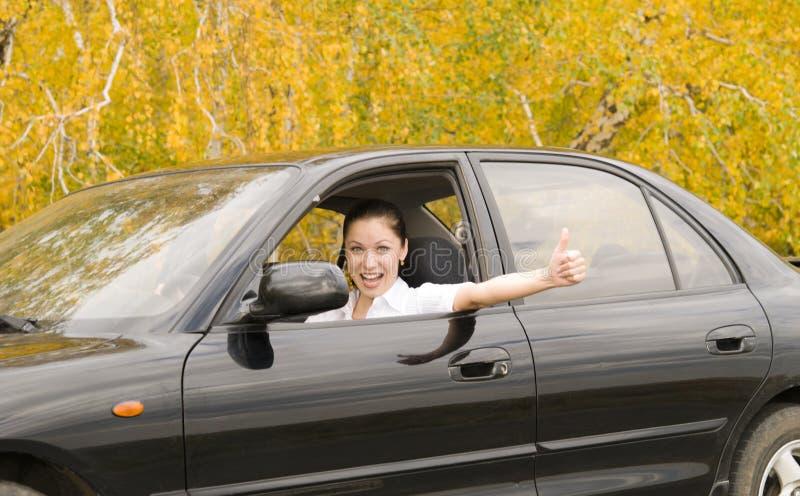 Happy Driver Stock Photo