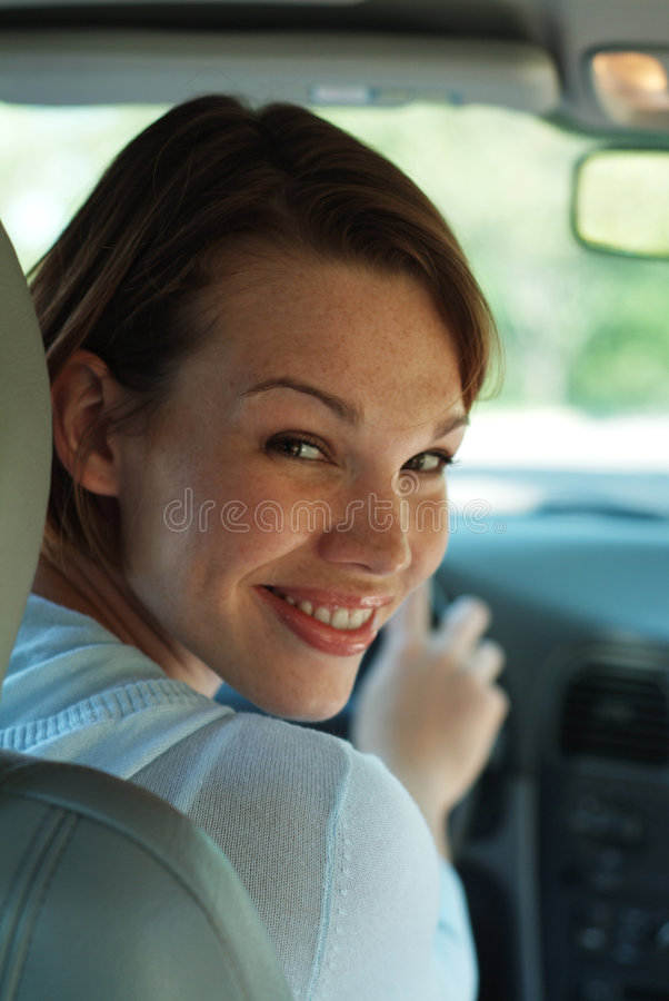 Download Happy driver stock image. Image of caucasian, windshield - 1638261