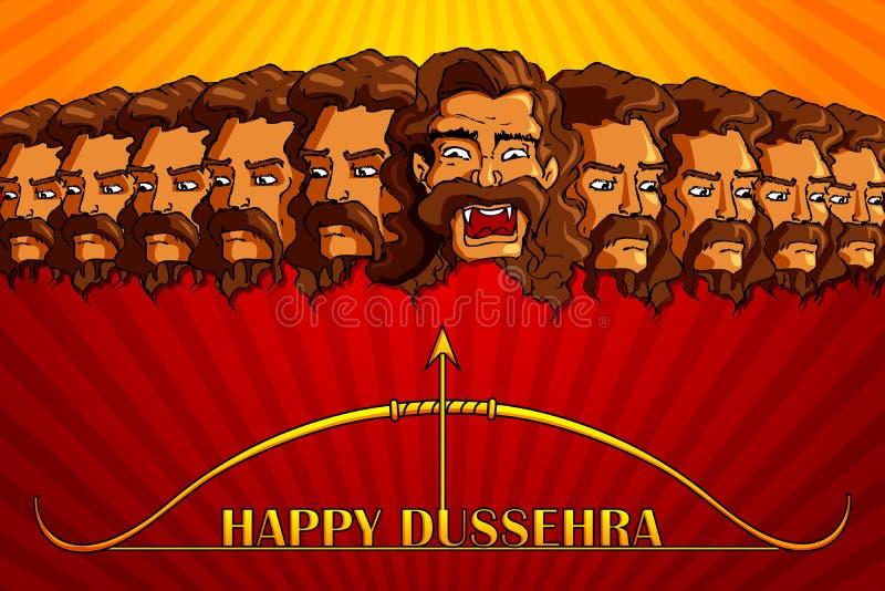 Download Happy Dussehra stock vector. Image of dussehra, illustration - 27329682