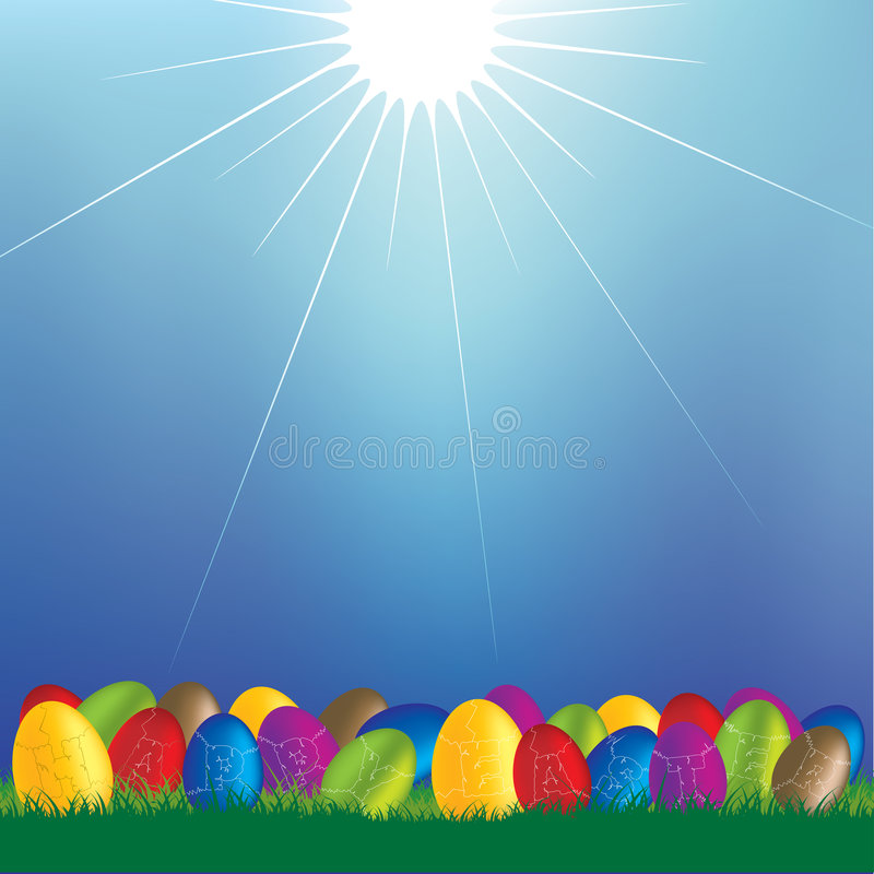 Download Happy Easter 1 stock vector. Illustration of easter, happy - 8483890