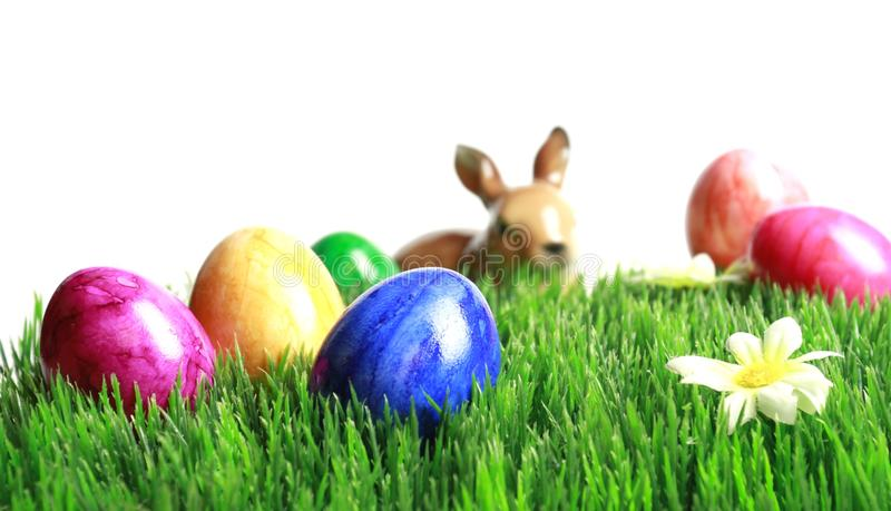 Download Happy Easter stock photo. Image of background, purple - 18635354