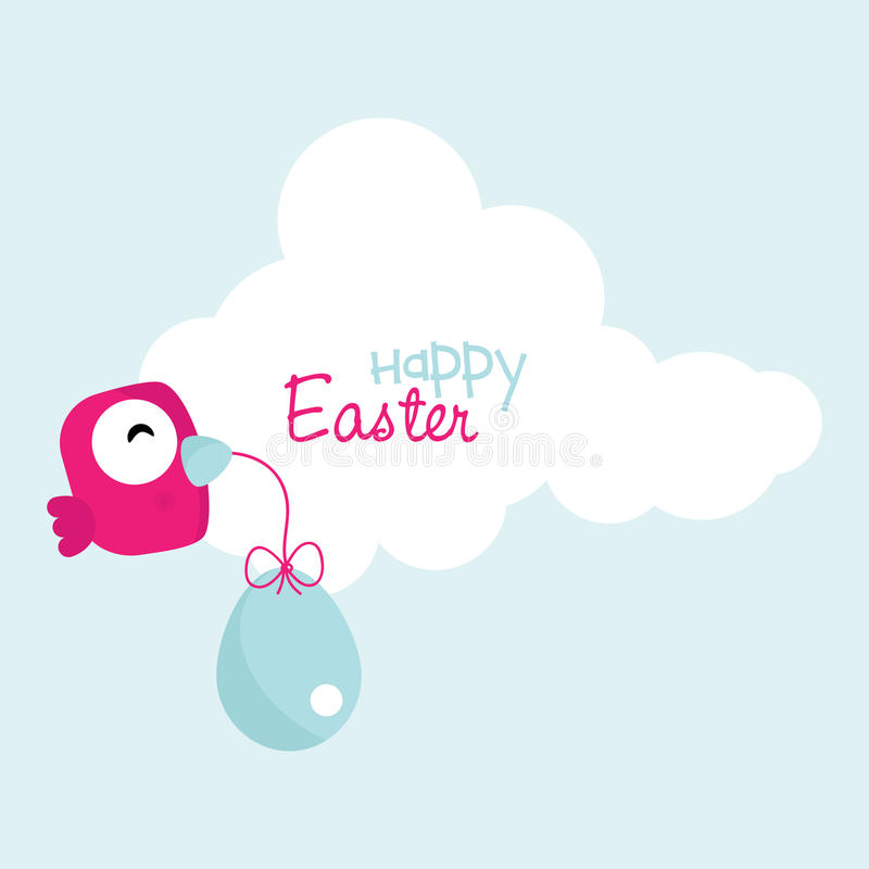 Download Happy Easter stock image. Image of message, happy, character - 18837991