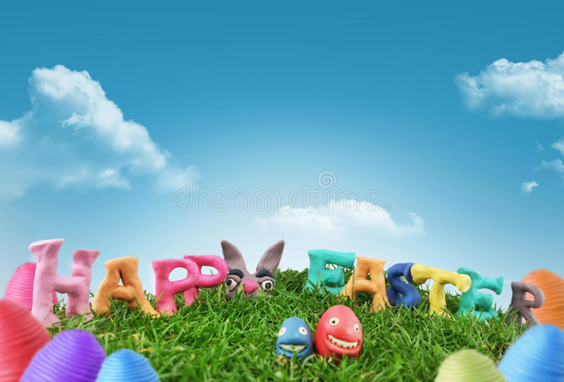Download Happy easter stock photo. Image of april, people, season - 19258578