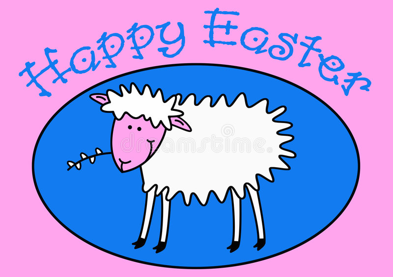Happy Easter !!! royalty free illustration