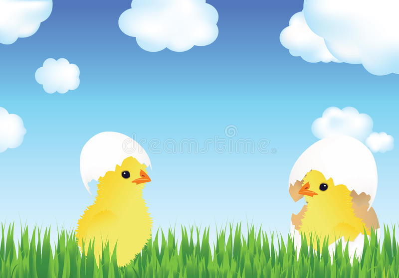 Download Happy Easter stock illustration. Image of template, symbol - 23781567