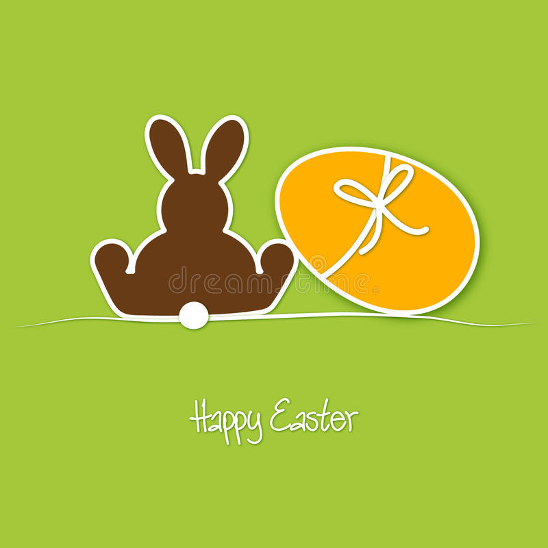 Download Happy Easter stock vector. Image of simply, design, abstract - 23885052