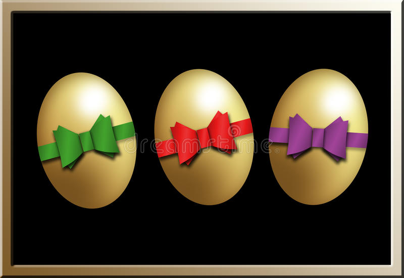 Download Happy Easter stock illustration. Illustration of chicken - 27627502