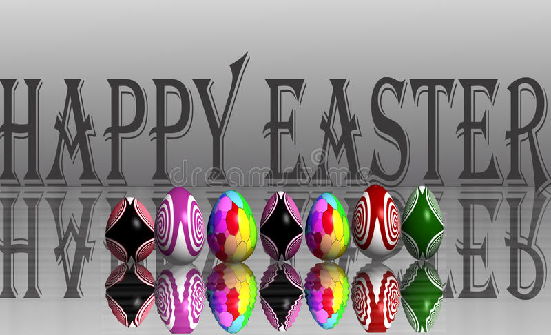 Download Happy easter stock illustration. Illustration of happy - 38011347