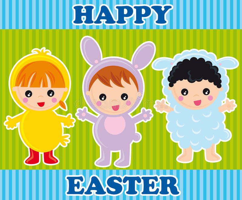 Download Happy easter stock vector. Image of holiday, spring, illustration - 8224223