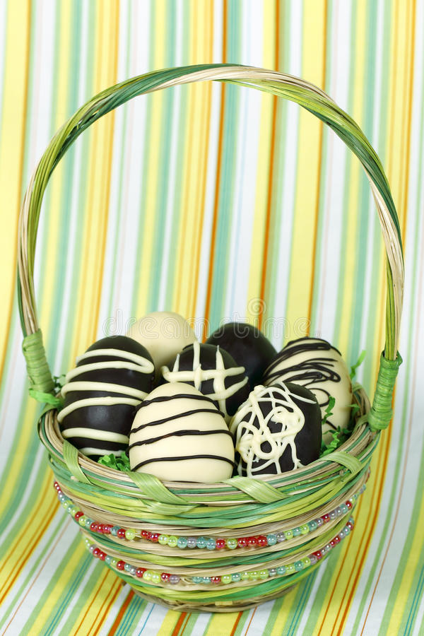 Free Happy Easter Basket Stock Photography - 13267512