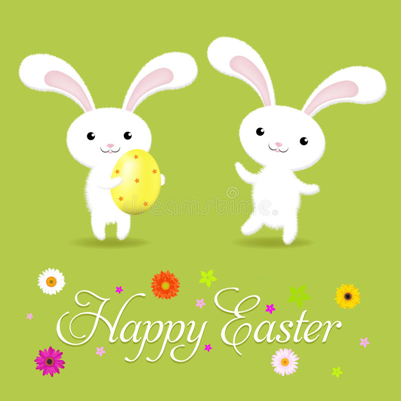 Free Happy Easter Card Stock Photography - 18562972
