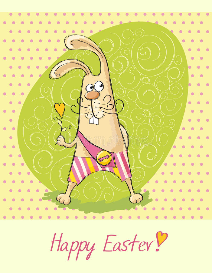Download Happy Easter card 2 stock vector. Image of symbol, happy - 23813897