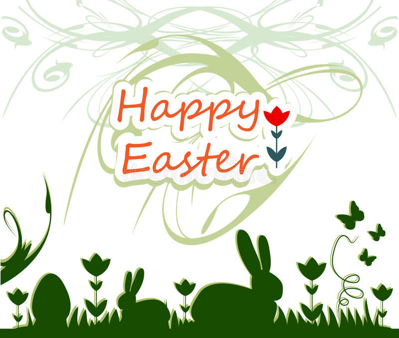 Happy easter royalty free stock image