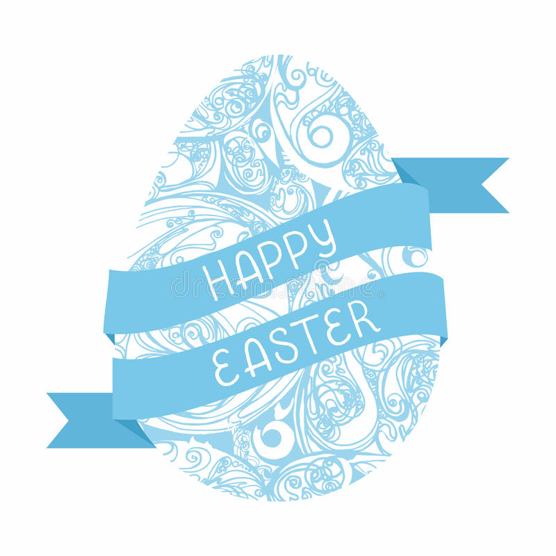 Happy easter cards illustration stock photography