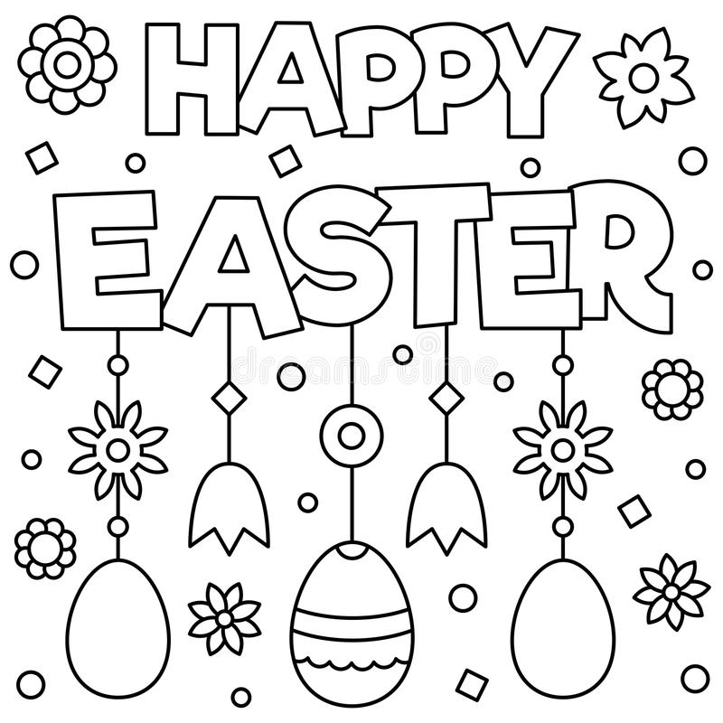 Easter Coloring Page Stock Illustrations – 2,883 Easter Coloring Page Stock  Illustrations, Vectors & Clipart - Dreamstime