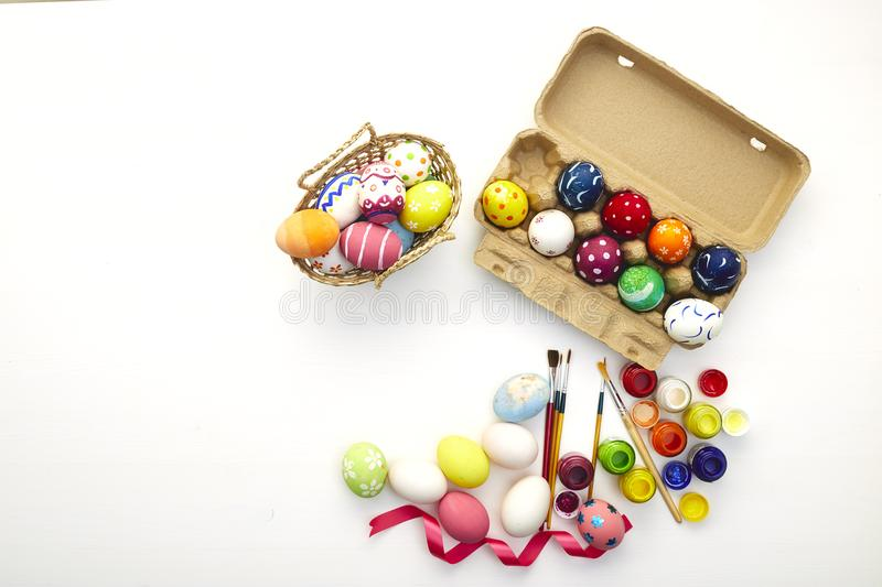 Happy easter day festival holiday royalty free stock photography
