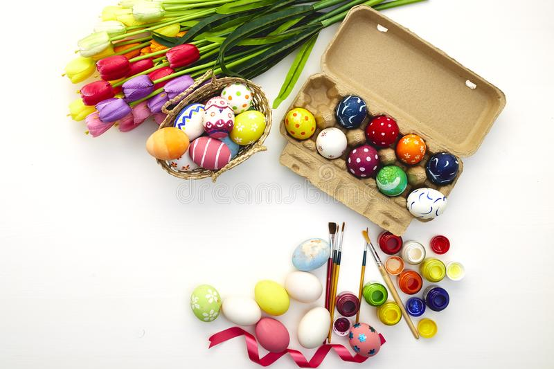 Happy easter day festival holiday royalty free stock image