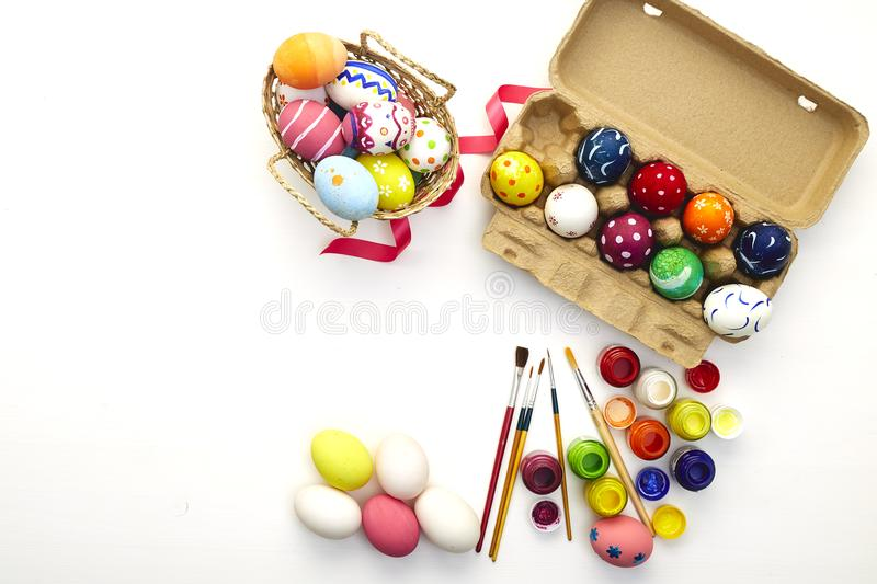 Happy easter day festival holiday royalty free stock photo