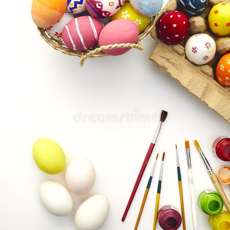 Happy easter day festival holiday stock image