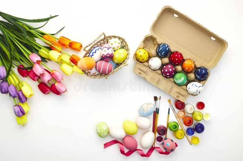 Happy easter day festival holiday stock photography