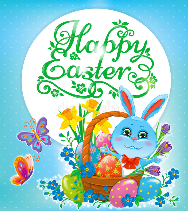 Happy Easter design royalty free illustration