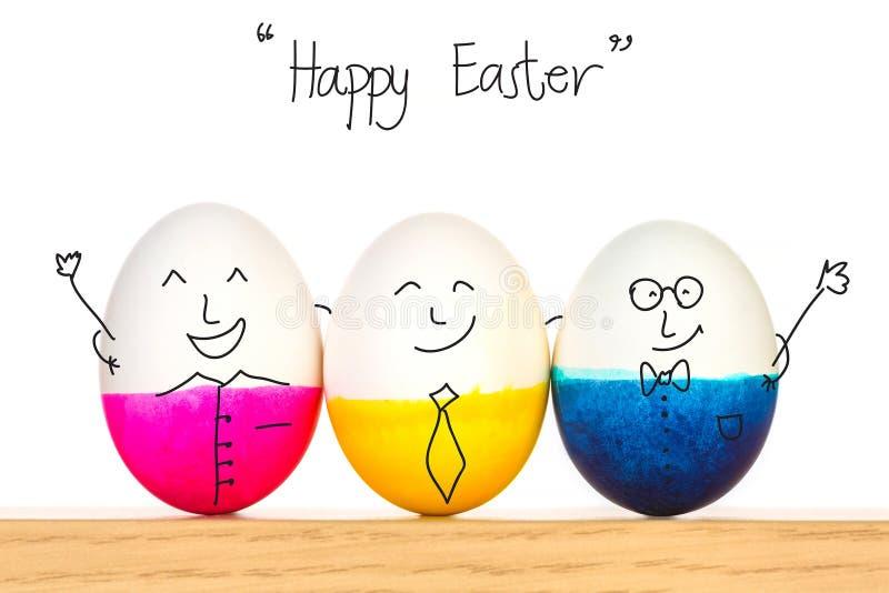 Happy Easter eggs vector illustration