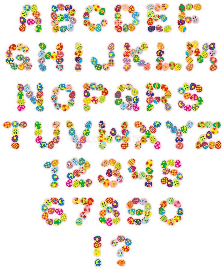Download Happy Easter font stock vector. Illustration of celebratory - 3947642