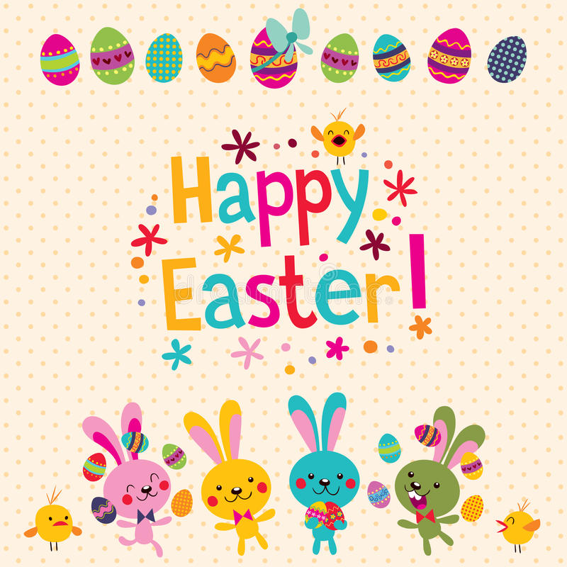 Happy easter greeting card stock vector illustration of flower download happy easter greeting card stock vector illustration of flower 24113598 m4hsunfo