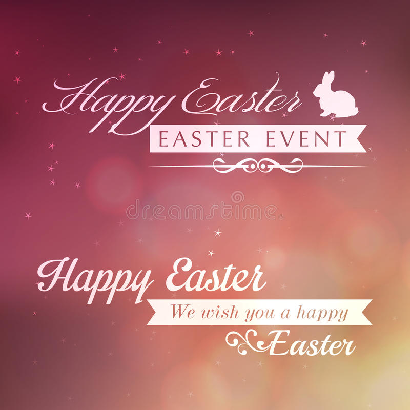 Happy Easter greeting card.   EPS10 Compatibility Required vector illustration