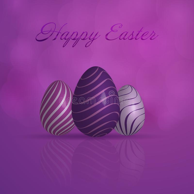 Happy Easter - Luxury vector illustration