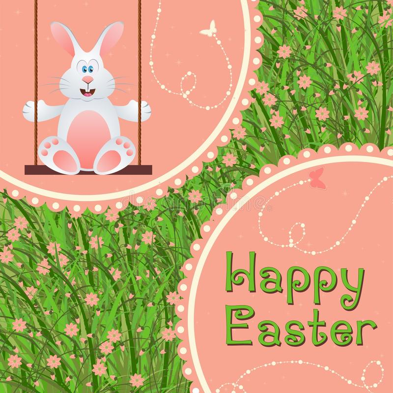 Happy easter royalty free illustration