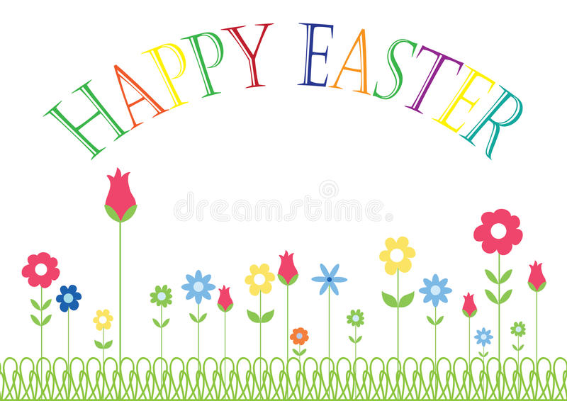 Happy Easter royalty free stock photo