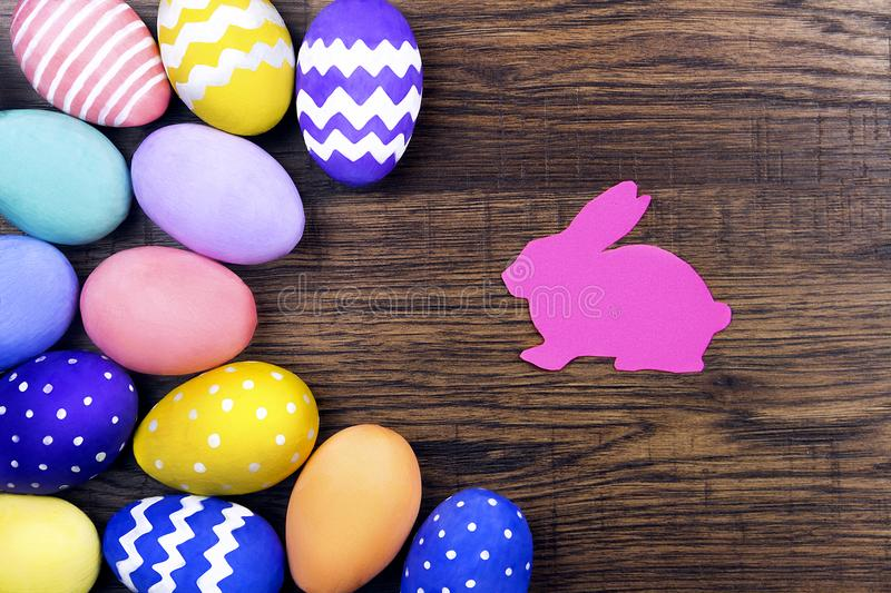 Happy Easter & Spring is coming concept stock images