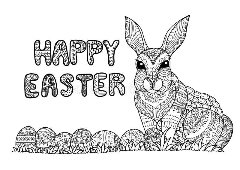 Happy Easter vector illustration