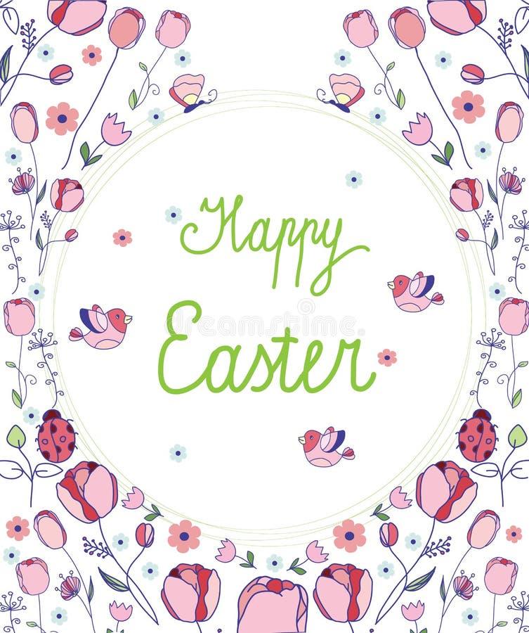 Happy Easter stock illustration
