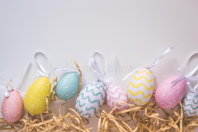 The happy easter for you design royalty free stock image