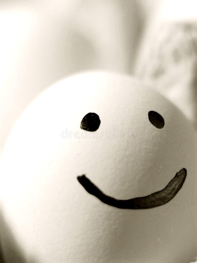 The happy egg royalty free stock photos