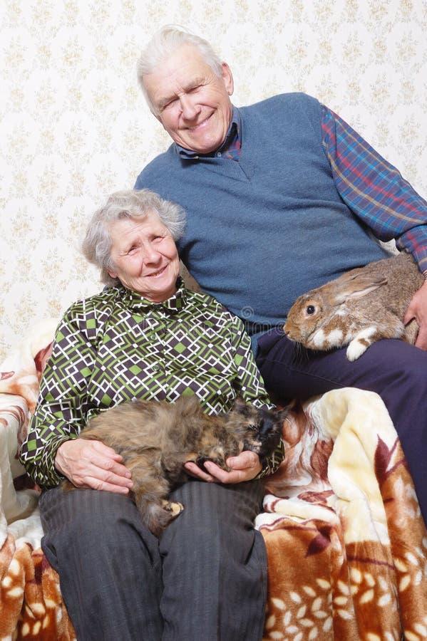 Free Happy Elderly Couple Royalty Free Stock Photography - 7828647