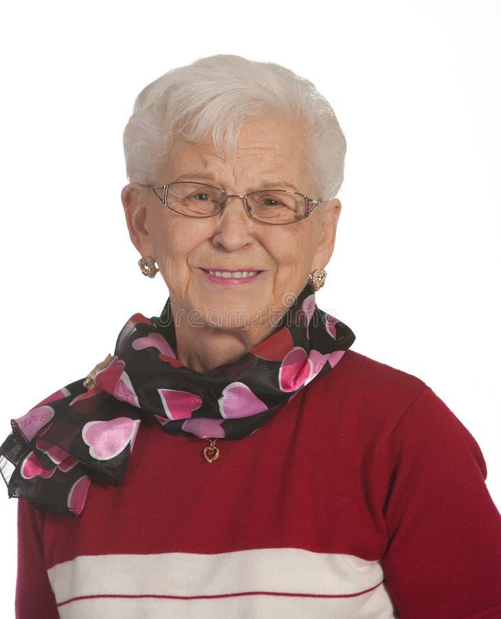 Free Happy Elderly Lady Stock Photos - 23745893