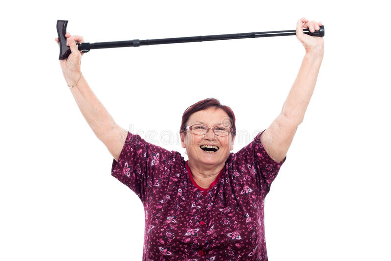 Download Happy Elderly Woman Royalty Free Stock Photo - Image: 25389925