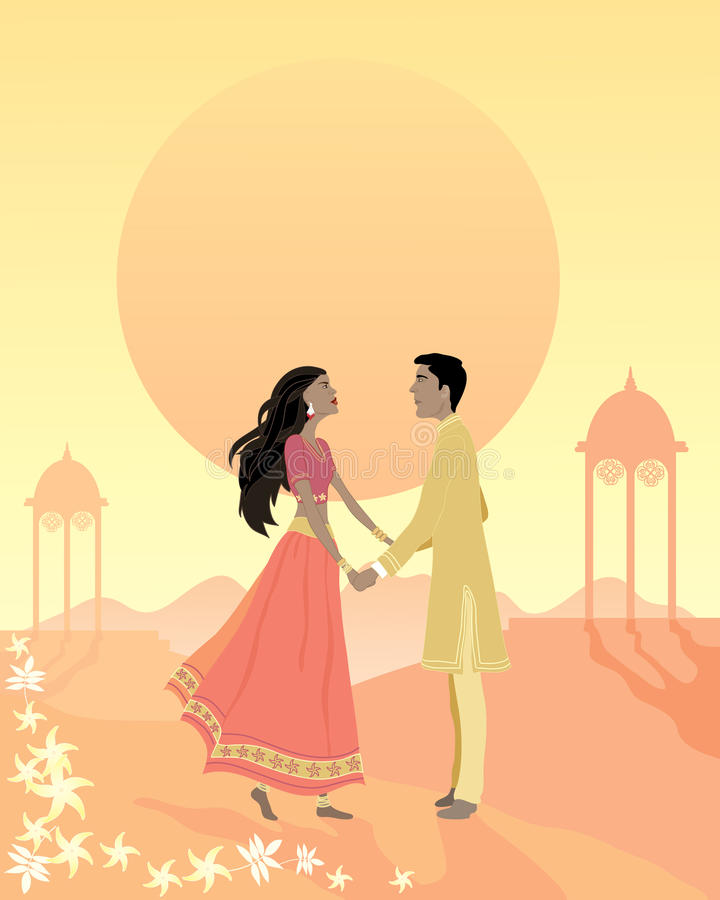 Download Happy ending stock vector. Image of architecture, romance - 20235412