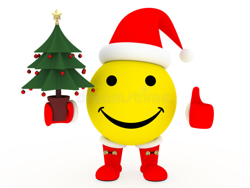 Download Happy Face In Santa's Costume Royalty Free Stock Photos - Image: 12108878
