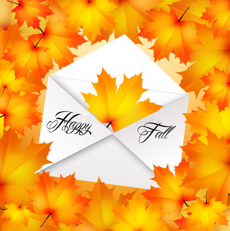 Download Happy fall stock illustration. Image of flow, autumn - 34432419