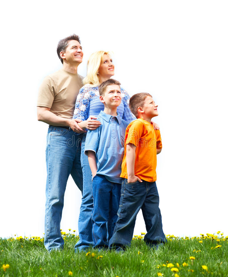 Download Happy family stock image. Image of parenthood, background - 12391931