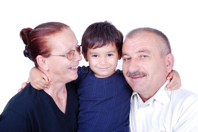 Download Happy family stock photo. Image of cute, grandson, grandmother - 13247696