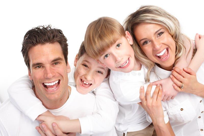 Download Happy family stock photo. Image of teeth, happy, children - 13518702