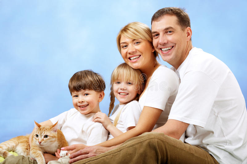 Download Happy family stock image. Image of affectionate, father - 13772823