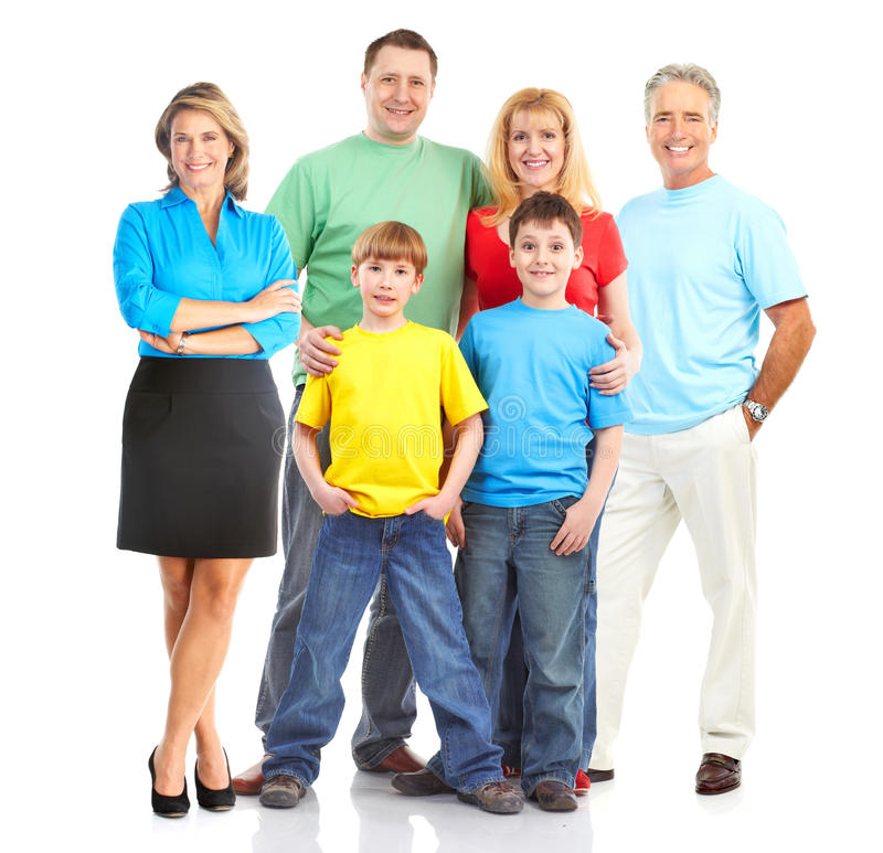 Download Happy Family Royalty Free Stock Photos - Image: 13907908